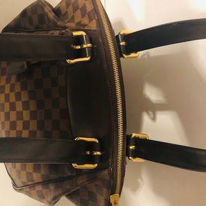 Authentic Verona Damien GM Brown LV Handbag